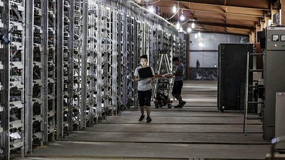 比特币矿场