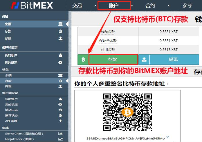 bitmex充值