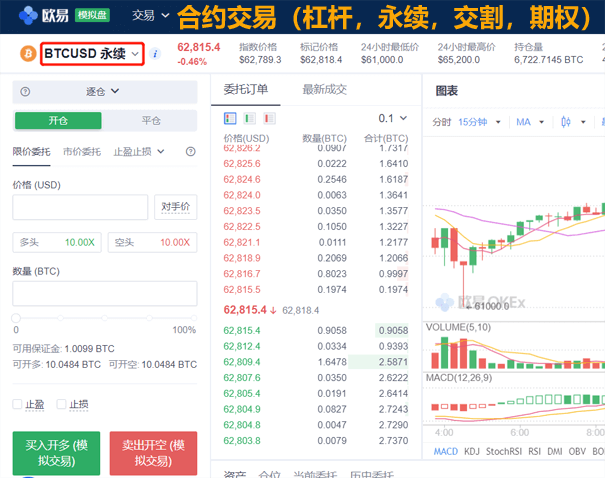 虚拟货币模拟交易平台